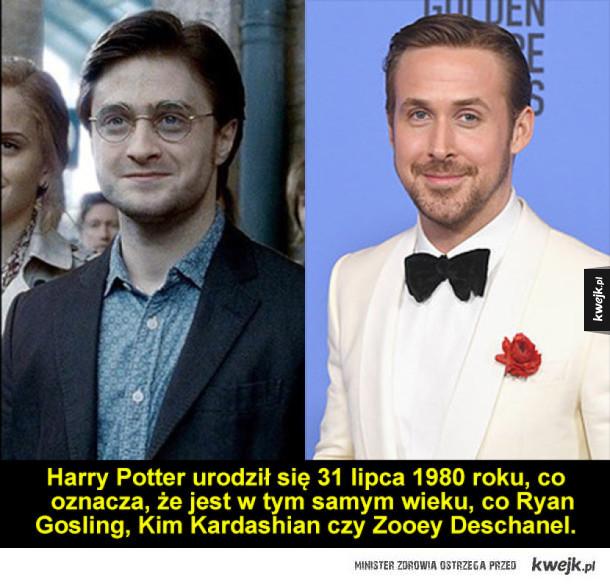 O Harrym Potterze z trochę innej, czasowej perspektywy