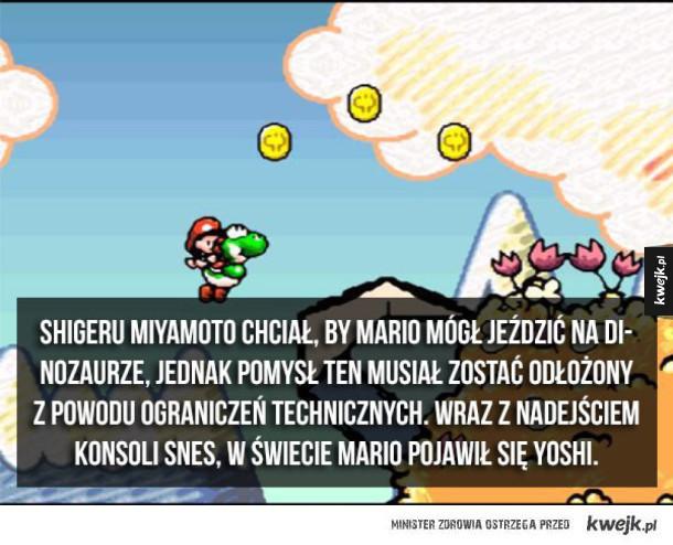 Ciekawostki o Mario
