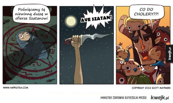Różne wierzenia w komiksach Scotta Maynarda
