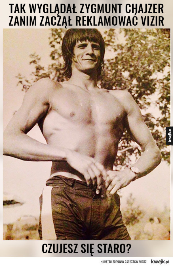 Polski Arnold Schwarzenegger