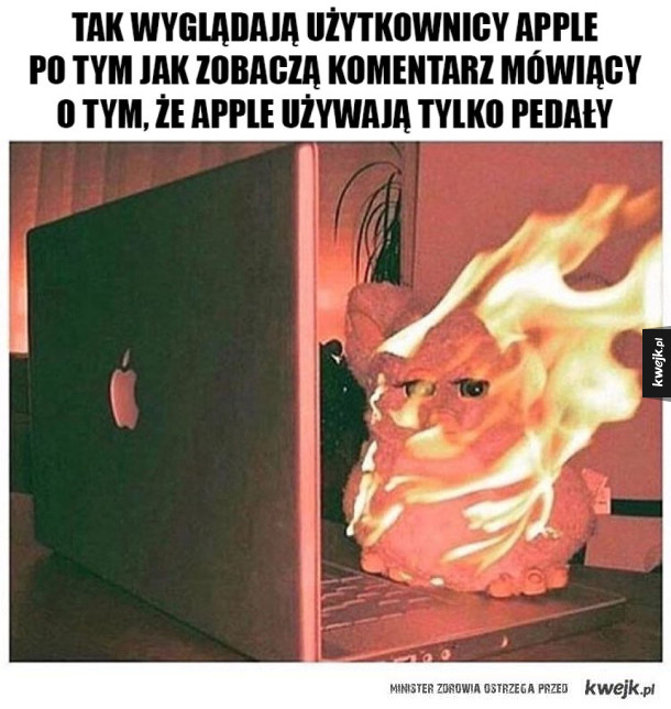 Typowy user apple'a