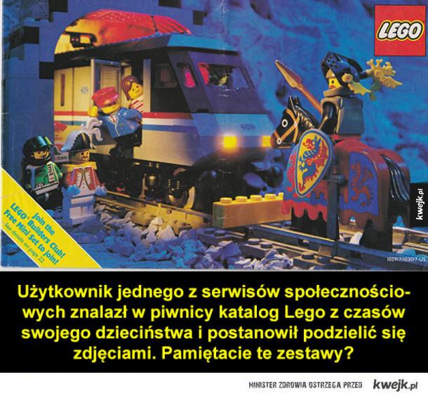 Nostalgiczne znalezisko z najlepszych czasów Lego