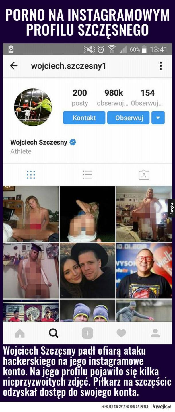 Włam na instagrama Szczęsnego!