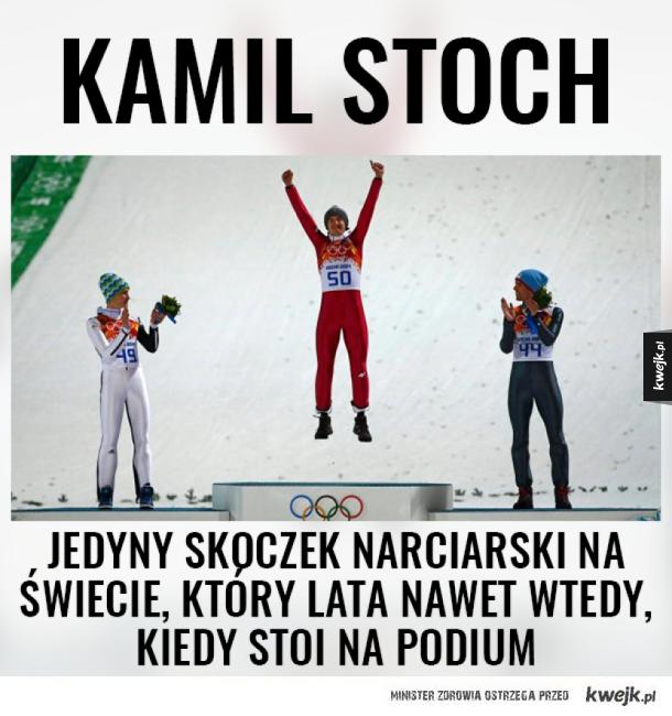 3 lata temu Kamil Stoch zdobył olimpijskie złoto!