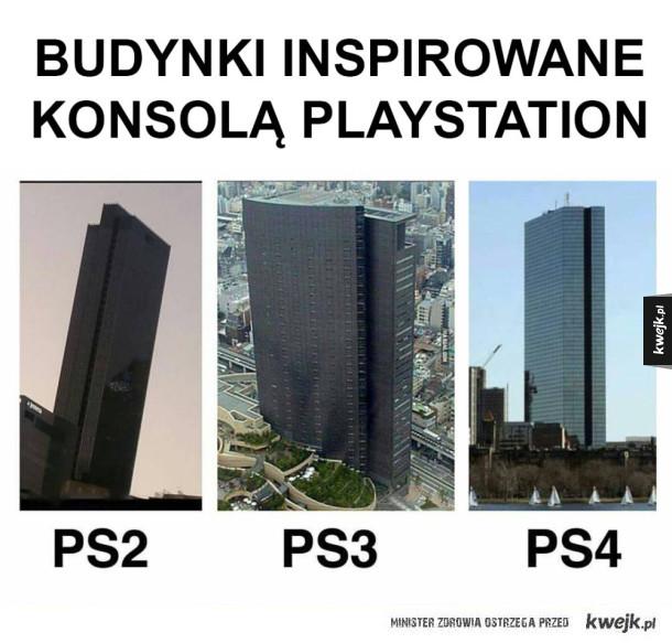 Playstation inspiruje architektów