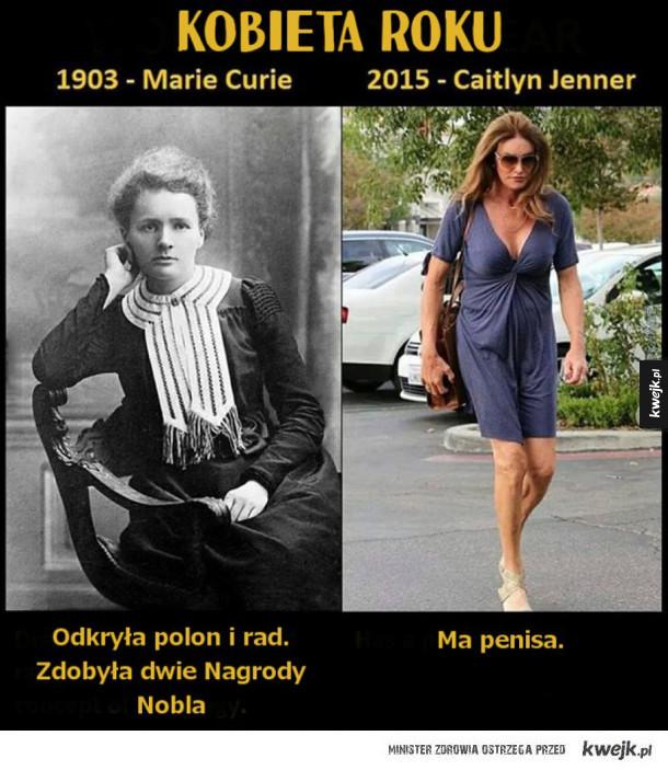 Taka różnica - Kobieta roku 1903 vs kobieta roku 2015