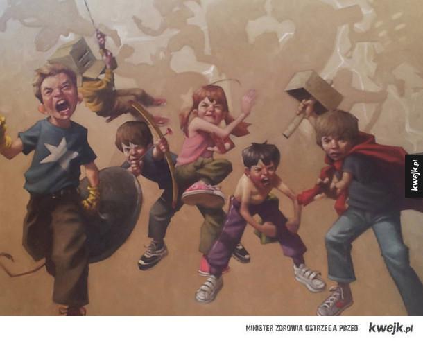 Potęga dziecięcej wyobraźni na ilustracjach Craiga Davisona