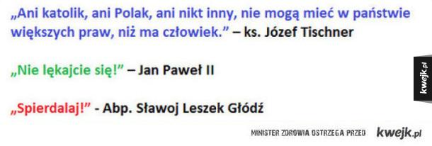 Cytaty polskich duchownych