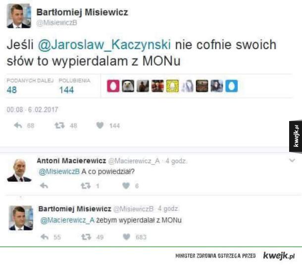 dziękuję pan jarosław