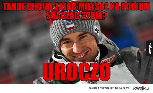 Najlepsze memy po skokach narciarskich w Obersdorfie