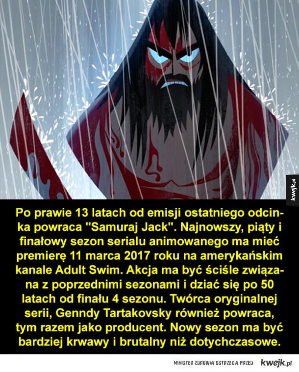 Kilka rzeczy, których mogliście nie wiedzieć o Samuraju Jacku