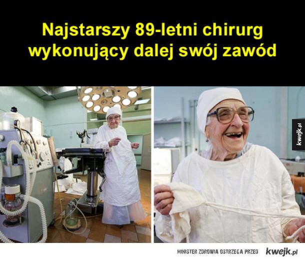 Najstarszy chirurg