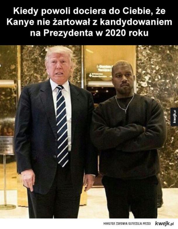 kanye prezydent pierwszy