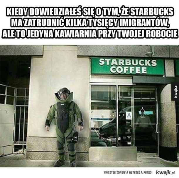 Starbucks zatrudni imigrantów