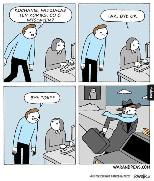 Komiksy z nutką czarnego humoru
