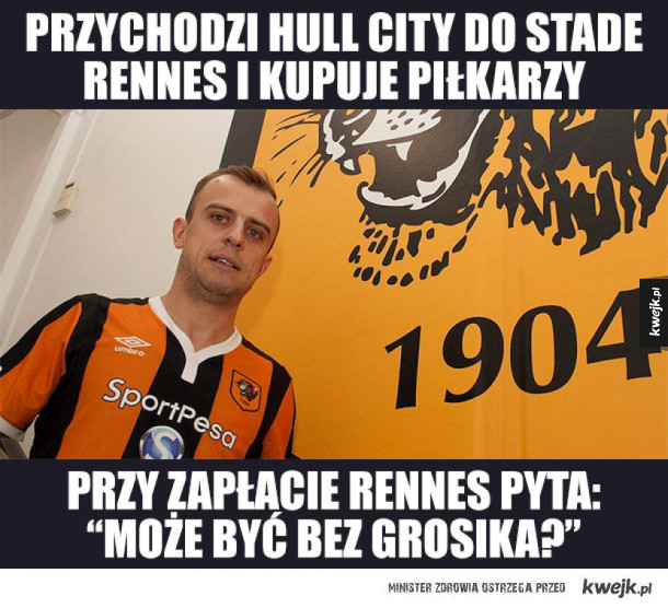 Kamil Grosicki piłkarzem Hull City!