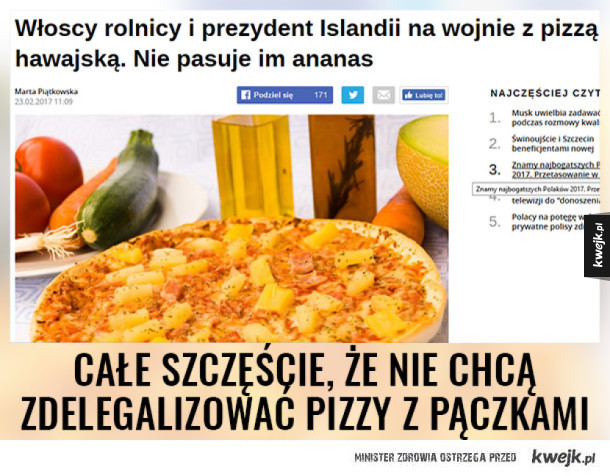 Nie delegalizujcie januszowej pizzy ;_;