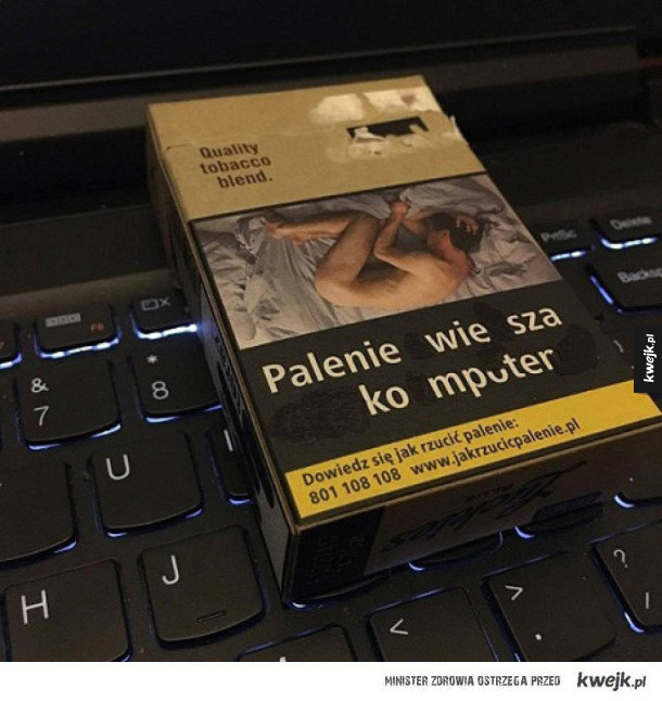 Palenie wiesza komputer