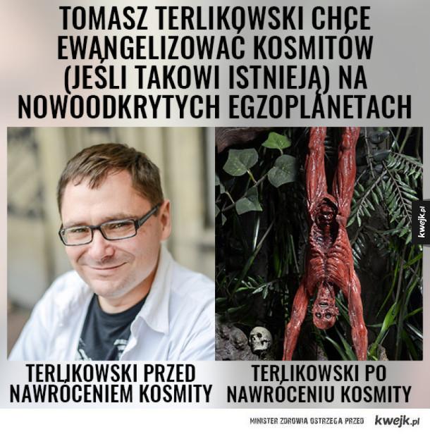 Ewangelizacja kosmitów według Terlikowskiego