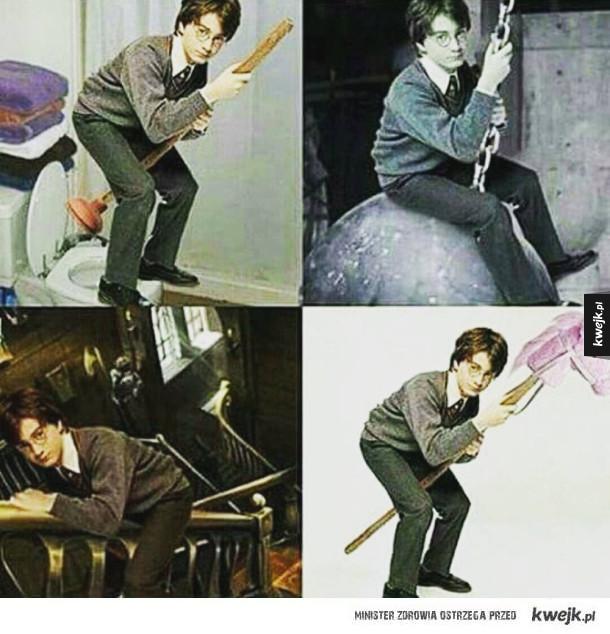 Harry ujeżdża rzeczy