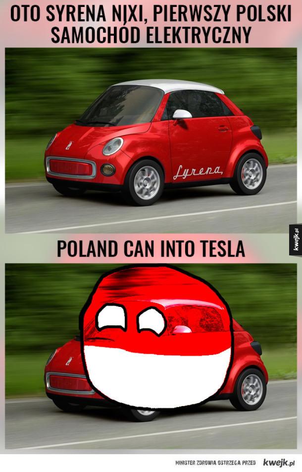 Poland can into Tesla