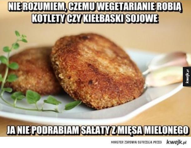 Nie rozumiem wegetarian