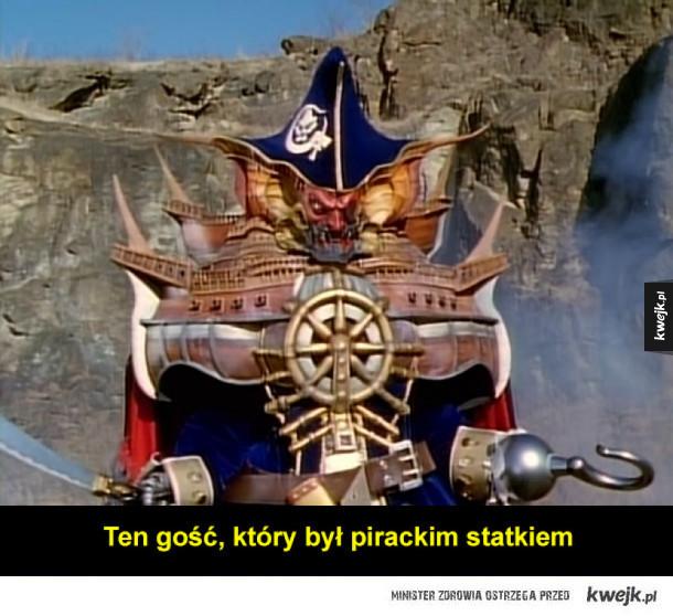 Potwory z Power Rangers były trochę dziwne