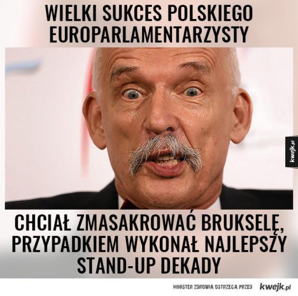"""Janusz Korwin-Mikke stand-Up Comedy prezentuje """"4,76%"""""""