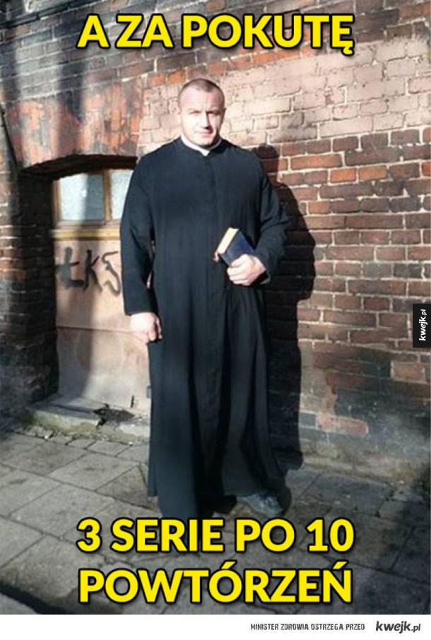Gdyby Pudzian był księdzem