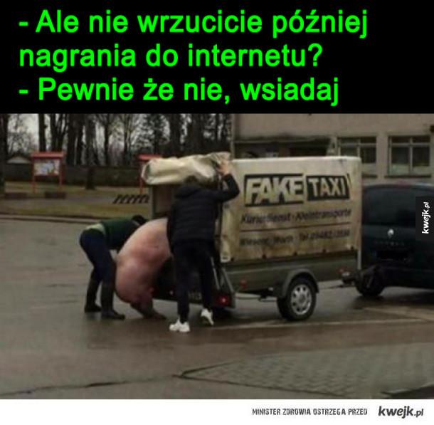 fejk taxi