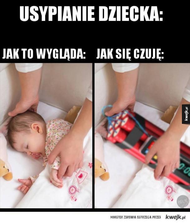 Usypianie dziecka takie jest