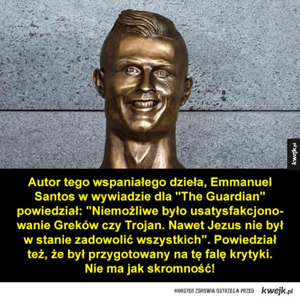 Skromny autor popiersia Ronaldo
