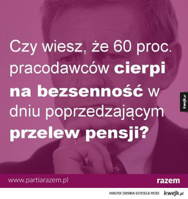 Pracodawcy w Polsce mają przej***e