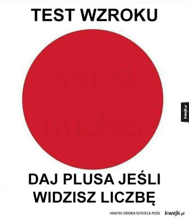 test wzroku