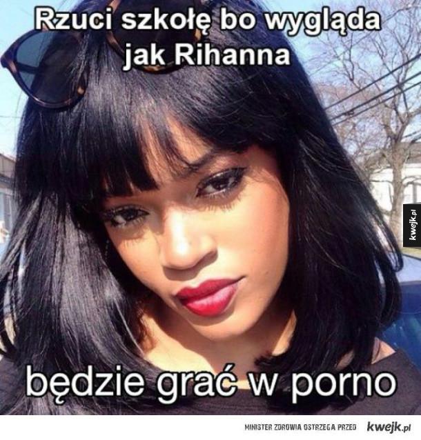 Sobowtór Rihanny