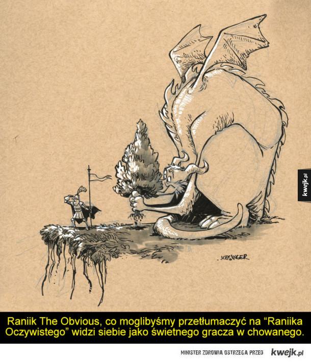 Świetne rysunki smoków autorstwa Briana Kesingera