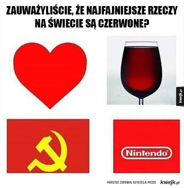 Czerwone rzeczy