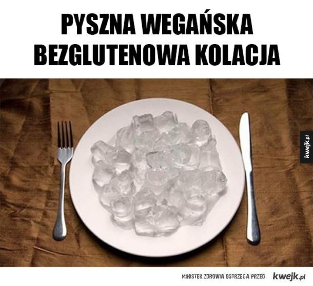 Wegańska kolacja