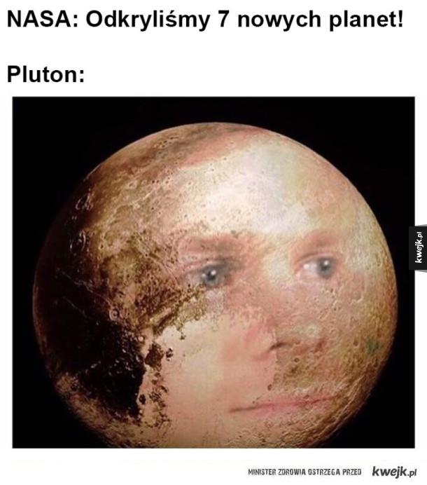Pluton średnio zadowolony