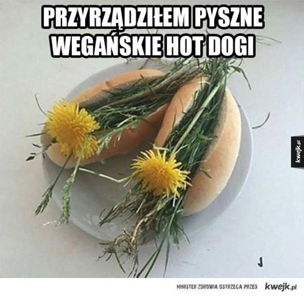 Wegańskie Hot Dogi
