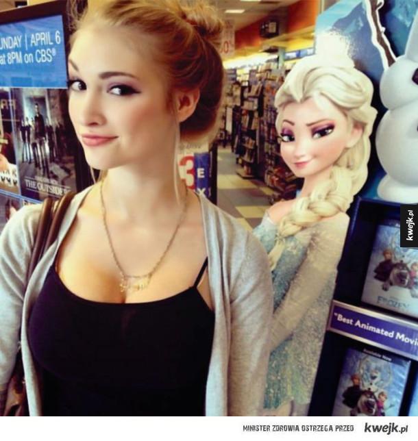 Ludzie, którzy wyglądają jak bohaterowie filmów Disneya