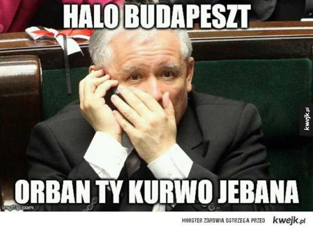 Kaczyński się wkurzył