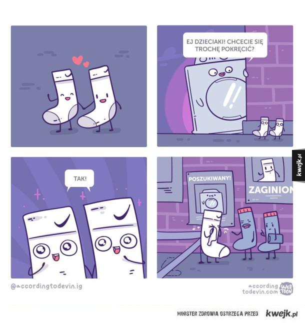 Zły pan pralka