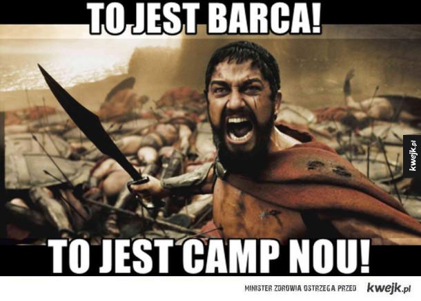 Memy po czemu Barcelona vs PSG - To jest barca! to jest camp nou!