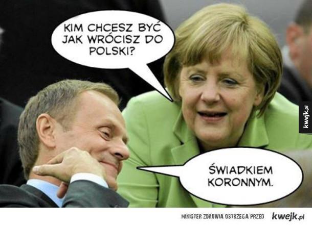 Tusk wraca do Polski