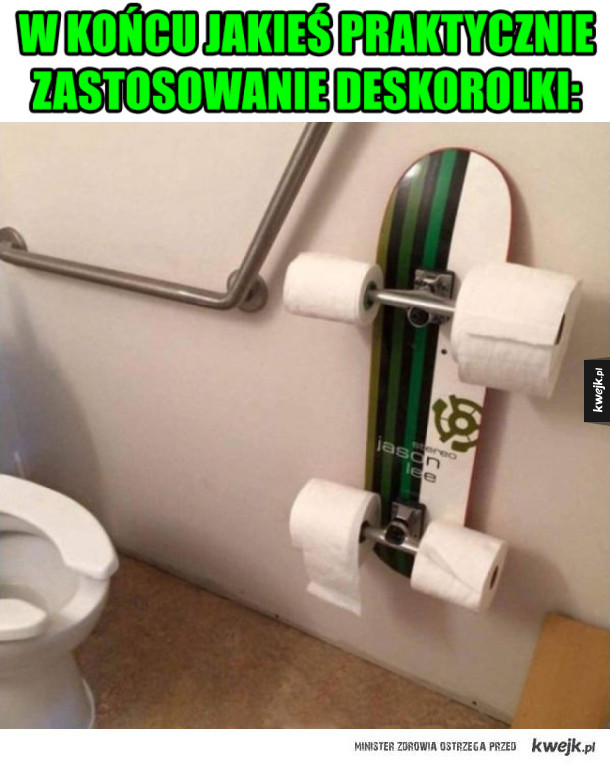 Deskorolka toaletowa