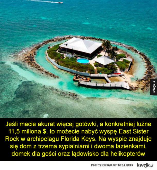 Spraw sobie prywatną wyspę w prezencie