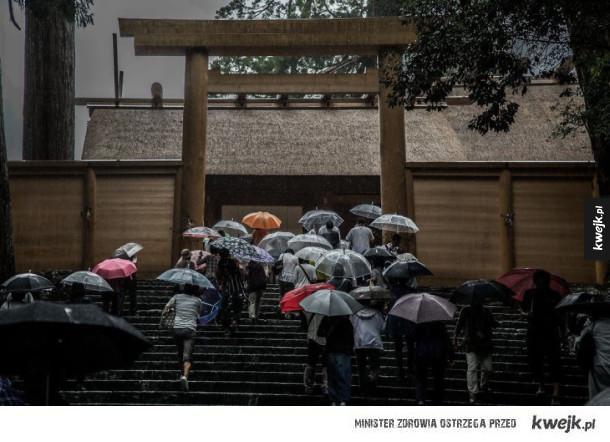 Japonia w sezonie deszczowym