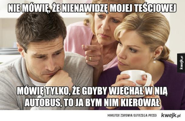 Memy z okazji Dnia Teściowej
