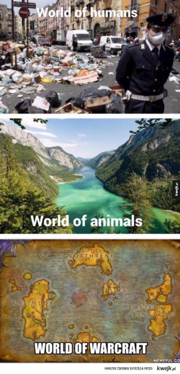 Już wybrałem swój świat ;)